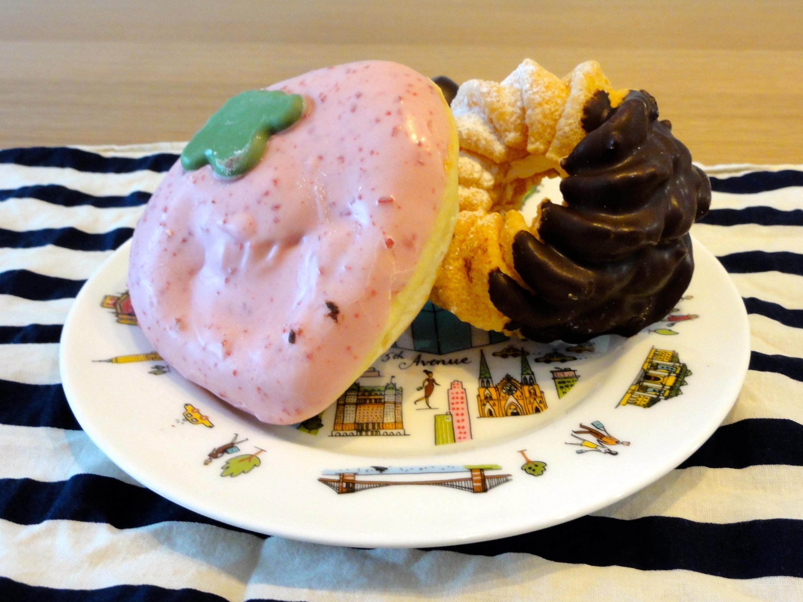 上北沢タイムズミスタードーナツでストロベリー祭り(仙川:ドーナツ)