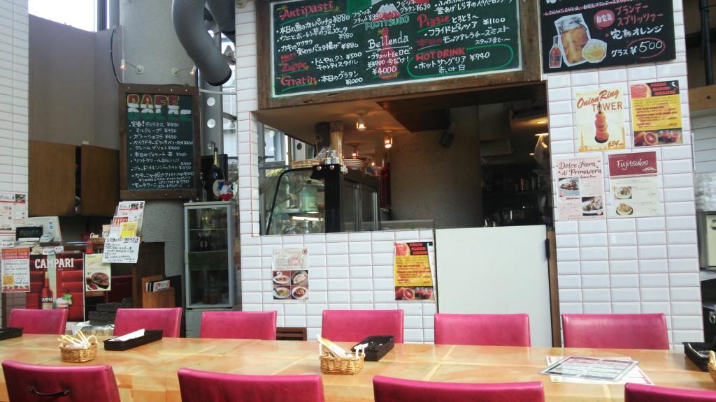 I'll CANTI CAFE 店内