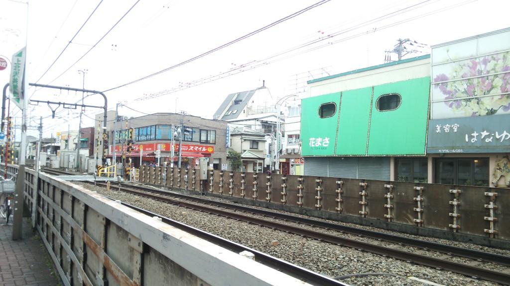 上北沢駅前