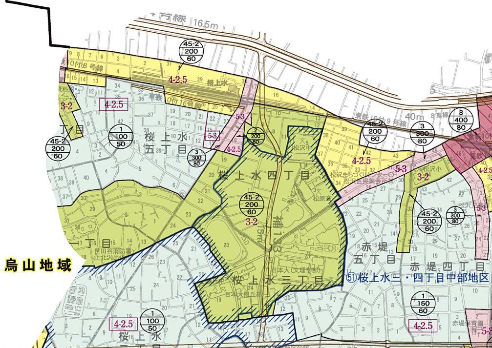 都市計画図-周辺