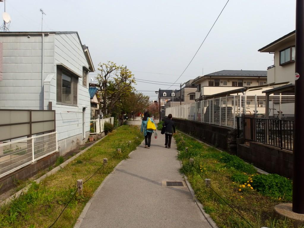 北沢川緑道