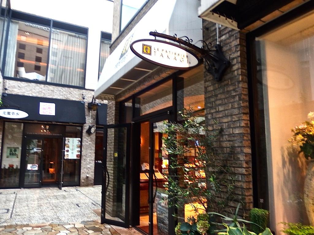 パティスリータカギ 外苑前 カフェ