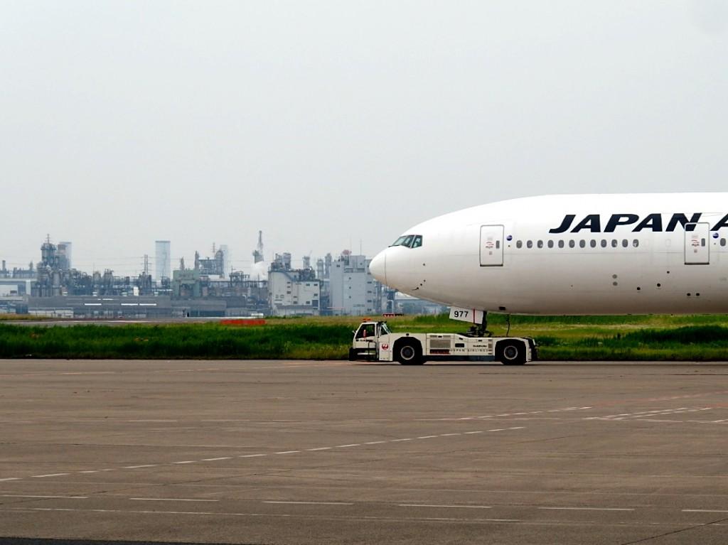 JAL 飛行機見学