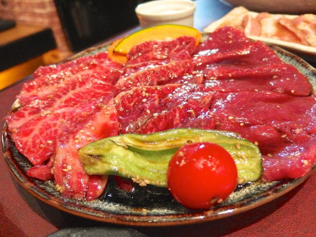 八幡山 焼肉 ゆうすい