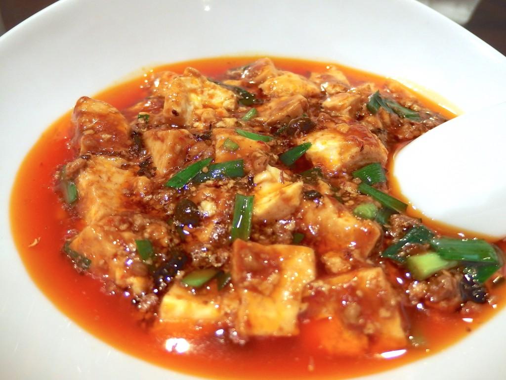 くるみ屋dining(四川麻婆豆腐定食)