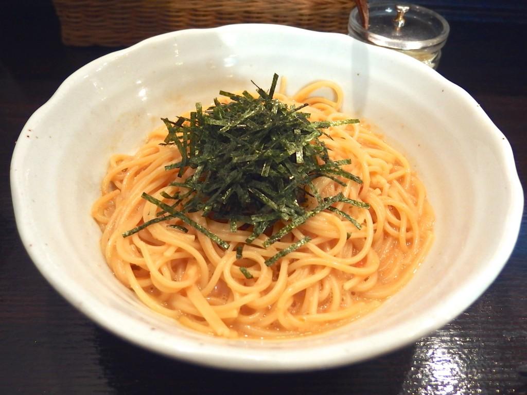 スパゲティ ICHI(タラコとウニのスパゲティ)