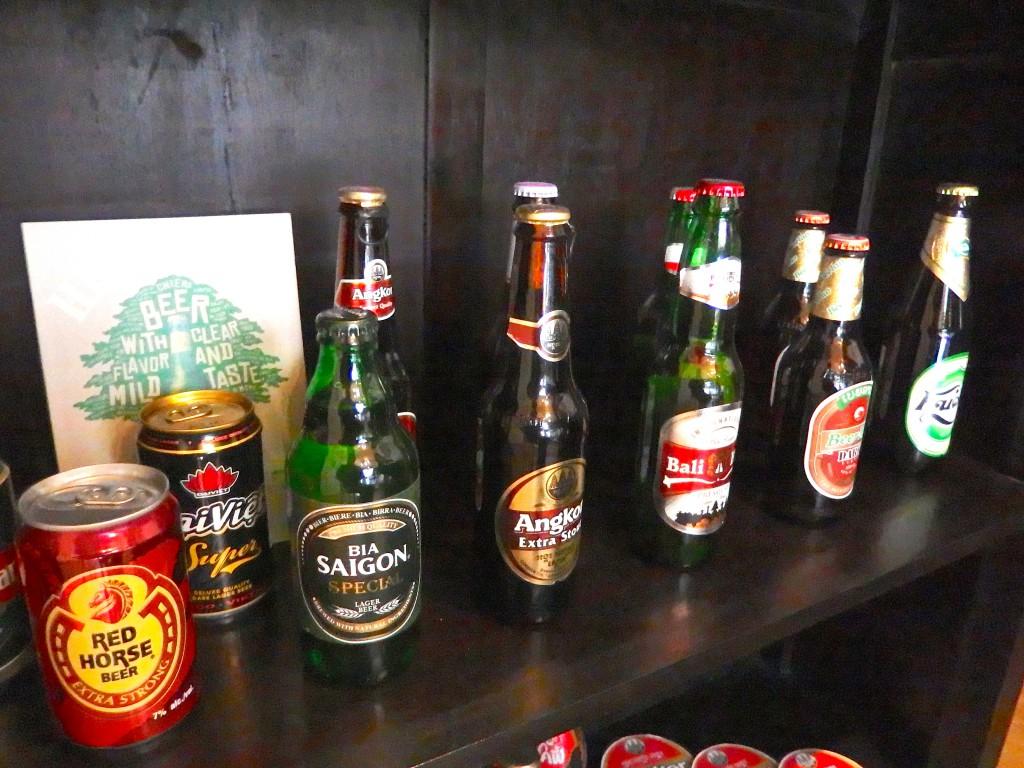 ムンランギットカフェ(アジアンビール、タイビール、インドネシアビール、ラオスビール等)