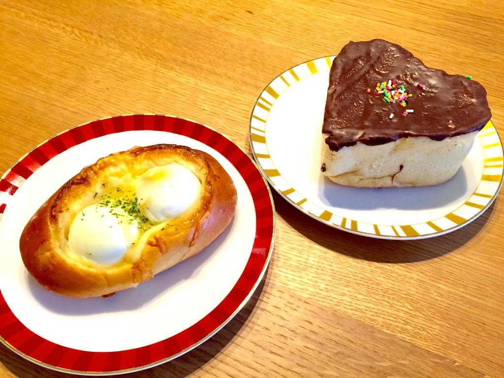 サンエトワール 桜上水店(ハートチョコ、卵パン)