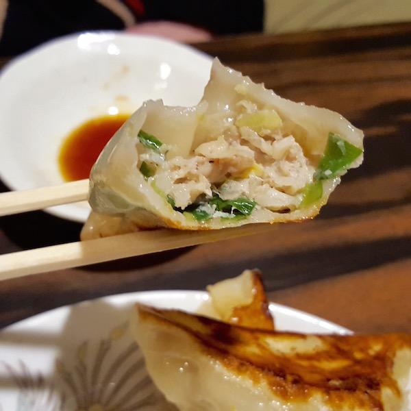 ニラ餃子(餃子専科 Dining Lee)