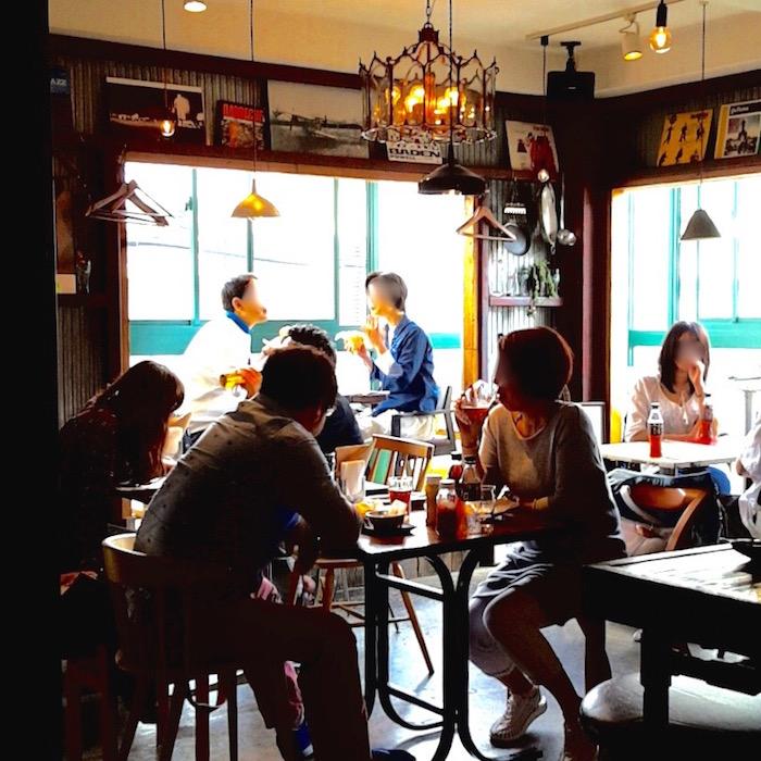 gastropub GOZO(店内) ストロパブGOZO ハンバーガー 下北沢 コロッケフェスティバル
